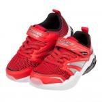 (17~23公分)Skechers紅色LIGHTS兒童機能電燈運動鞋V#KN3LA*XBB