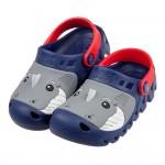 (17~22公分)SKECHERS_HET_SWELL_鯊魚深藍色兒童布希鞋P#GD3EB*XBB