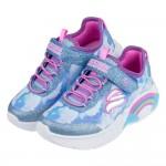 (17~23公分)SKECHERS彩虹兒童電燈運動鞋P#KH3LB*XGG
