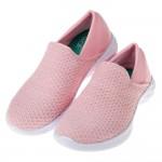 (17~24公分)SKECHERS_YOU系列粉色針織兒童休...