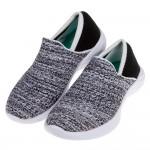 (17~24公分)SKECHERS_YOU系列黑色針織兒童休閒運動鞋