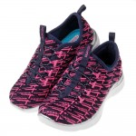 (17~24公分)SKECHERS_Appeal2.0深藍粉...