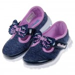 (13~18公分)SKECHERS_GO_WALK系列銀藍紫...