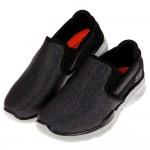 (17~25公分)SKECHERS_EQUALIZER3.0_輕量透氣深灰色兒童機能休閒鞋