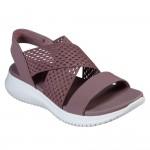 (23~26公分)SKECHERS_CALI系列紫色女款運動涼鞋