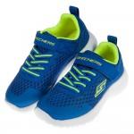 (17~24公分)SKECHERS_記憶鞋墊藍色兒童運動鞋