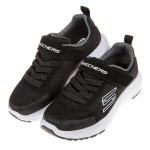 (17~24公分)SKECHERS_DYNAMIC_TREAD黑色兒童運動鞋P#KN3ND*XBB