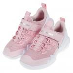 (17~23.5公分)SKECHERS_DLT_A粉紅色透氣針織老爹鞋兒童運動鞋