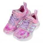 (17~23.5公分)Skechers亮彩水幻獨角獸粉色兒童機能運動鞋