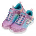 (17~23.5公分)SKECHERS_SEA_SPARKLE_美人魚亮片粉色海洋兒童運動鞋P#KH3NG*XGG