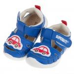 (12.5~16公分)BABYVIEW頂級皮質寶藍色小車寶寶...