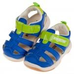 (14~18公分)BABYVIEW頂級皮質寶藍色兒童運動護趾...