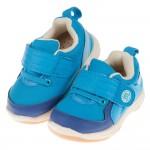 (13~16.5公分)BABYVIEW活潑寶寶藍色透氣防滑寶寶學步鞋'