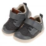 (13~18公分)BABYVIEW頂級灰色透氣柔軟機能寶寶學步鞋