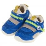 (12.5~16公分)BABYVIEW頂級藍色透氣柔軟機能寶寶學步鞋
