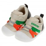 (12.5~14.5公分)BABYVIEW頂級米澄色透氣柔軟機能寶寶學步鞋