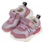 (14~16.5公分)BABYVIEW皮質帥氣紫色寶寶機能學...