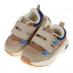 (14~19公分)BABYVIEW特選透氣卡其色寶寶機能學步鞋