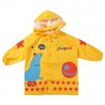 (S.M,L)韓版防水防風黃色海獅兒童雨衣