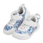(15~21公分)日本IFME季節花卉白色兒童機能運動鞋P#KU3NM*XGG