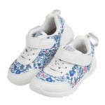 (15~21公分)日本IFME季節花卉白色兒童機能運動鞋P#...