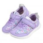 (15~21公分)日本IFME花繪采風紫色兒童機能運動鞋P#KU3NF*XGG