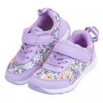 (15~21公分)日本IFME季節花卉紫色兒童機能運動鞋P#KU3NF*XGG