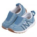 (15~21公分)日本IFME灰藍色套入式兒童機能運動鞋P#...