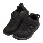 (18~21公分)日本IFME經典純黑透氣兒童機能運動鞋P#KU3ND*XMM