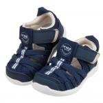 (12~15公分)日本IFME軍藍和風寶寶機能水涼鞋P#HD...