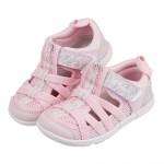 (15~19公分)日本IFME粉色和風花繪兒童機能水涼鞋P#...
