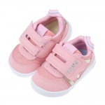(12~15公分)日本IFME和風彩光馬卡龍粉寶寶機能學步鞋...