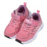 (19~24公分)FILA康特杯系列樂活輕量粉紅色兒童運動鞋P#KU3NGXXG