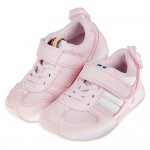 (15~19公分)日本IFME櫻花粉色兒童機能運動鞋