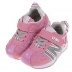 (15~21公分)日本IFME春梅粉色兒童機能運動鞋