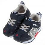 (15~21公分)日本IFME海軍藍色兒童機能運動鞋