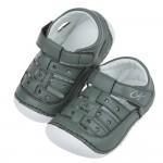 (12.5~15公分)CONNIFE星星森林綠色寶寶涼鞋P#...