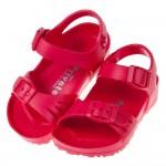(15~22公分)PRIVATE台灣製超輕量桃色兒童涼鞋