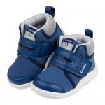 (12.5~15.5公分)Combi藍色Core_S中筒成長機能學步鞋P#MB3NB*BXX