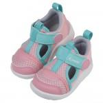 (12.5~18.5公分)Combi綠粉色Core_S成長機能學步涼鞋P#MN4NG*GGX