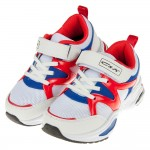 (22~24.5公分)不敗流行款經典藍紅白透氣兒童運動鞋
