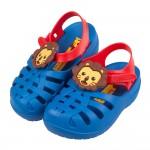 (13~14.5公分)Ipanema小獅王藍色寶寶護趾涼鞋香...