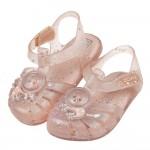 (14~17.5公分)ZAXY幻想曲粉膚色太空貓兒童護趾涼鞋...