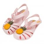 (14~17.5公分)ZAXY甜果可愛鳳梨淺粉色兒童護趾涼鞋...