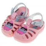 (12.5~17公分)Ipanema杯子蛋糕粉紅色寶寶護趾涼鞋香香鞋