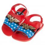 (12.5~15公分)Ipanema神力女超人紅色寶寶涼鞋香香鞋