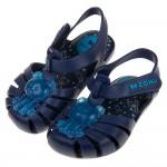 (12.5~17.5公分)ZAXY小熊軟糖海軍藍寶寶護趾涼鞋香香鞋