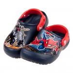 (16.5~19公分)Crocs卡駱馳趣味學院猛毒蜘蛛人深藍色兒童布希鞋V#GN3NB*XBX