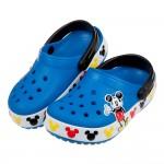 (16.5~19.5公分)Crocs卡駱馳味學院迪士尼米奇藍...