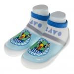 (12.5~16.5公分)巧虎童鞋桃樂比Brovo粉藍色